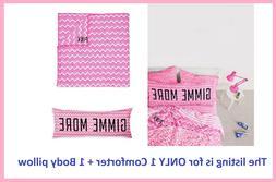 Victoria Secret Pink AZTEC CHEVRON GIMME MORE BODY PILLOW CO