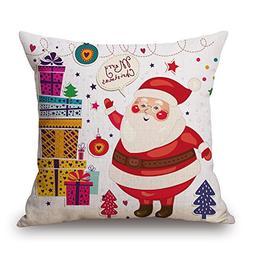 Vintage Merry Christmas Funny Cute Santa Claus Decorative Th