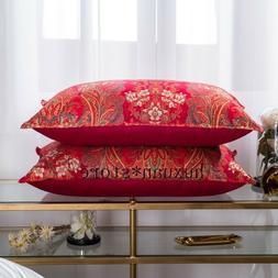 Wedding Goose Down Feather Bedding Pillows Luxury European C