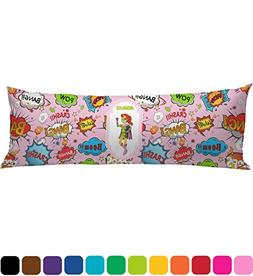 RNK Shops Woman Superhero Body Pillow Case