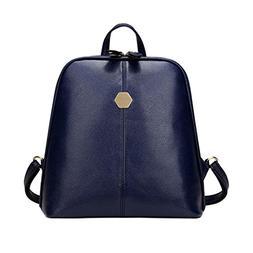 MaxFox Women College Wind Crossbody Bag Femal Soft Leather F