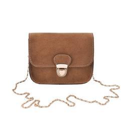 Women Vintage Mini Matte <font><b>Faux</b></font> Leather Cr