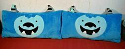 "Pillowfort- Yeti Body Pillow Blue 26"" x 14"" Qty 2"