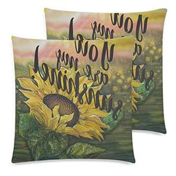 URDER You Are My SunshineThrow Pillow Case Cushion Covers wi
