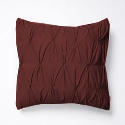 SplendidHome Zipper Pintuck 2 Piece Pillow Decorative Throw