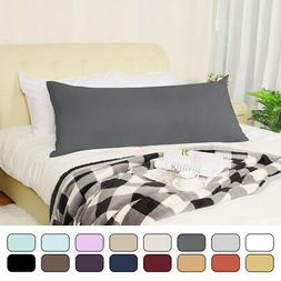 Zippered Body Pillow Case Cover Soft Microfiber Long Pillowc